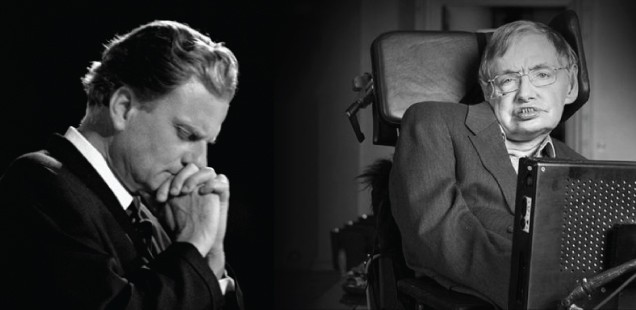 STEPHEN HAKWING vs BILLY GRAHAM: Two Deaths – Two Destinies