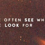 We Often See What We Look For